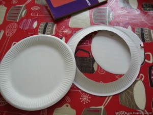 How to make a paper plate pocket watch