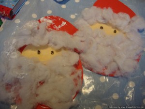cotton wool santa's beard