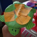 turtle cupcake case animal
