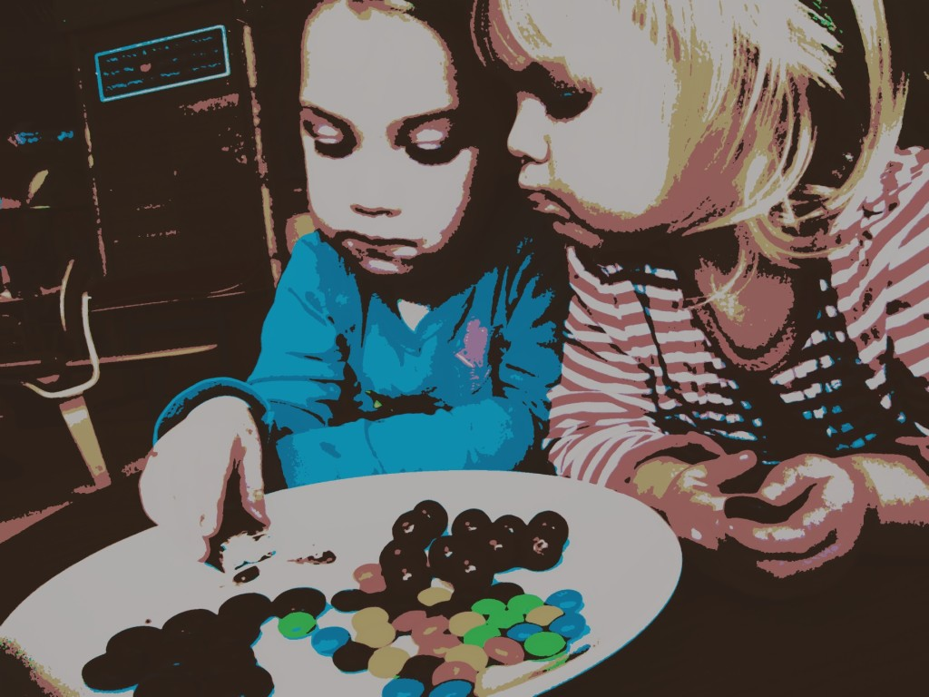 Kids and sweets