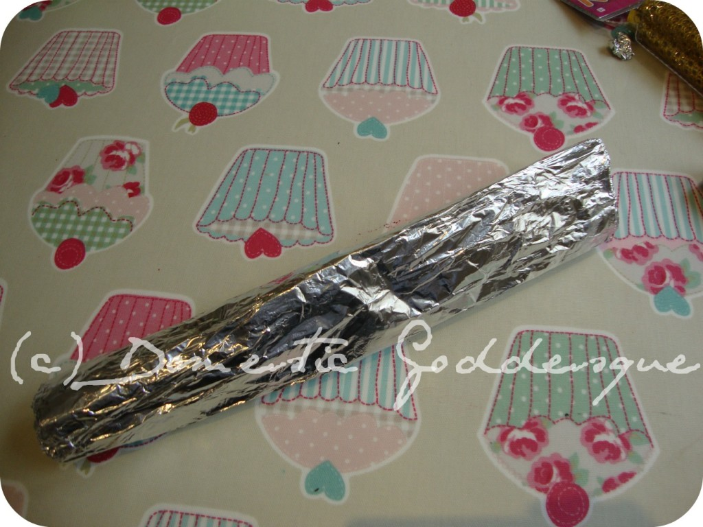 cover in foil