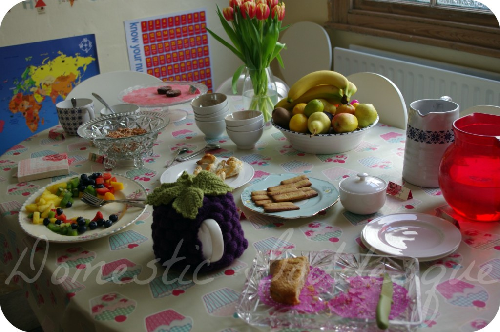 Coffee Morning Spread