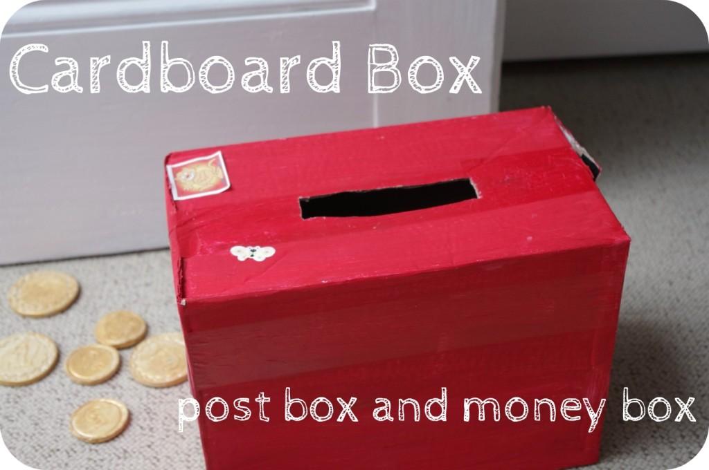 cardboard box post box