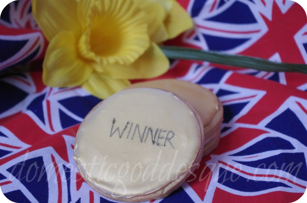 Gold Medal Winner Olympic Biscuits Cookies