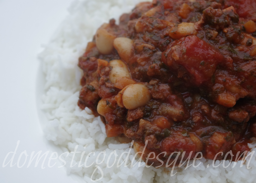 delicious easy stew with cannellini beans