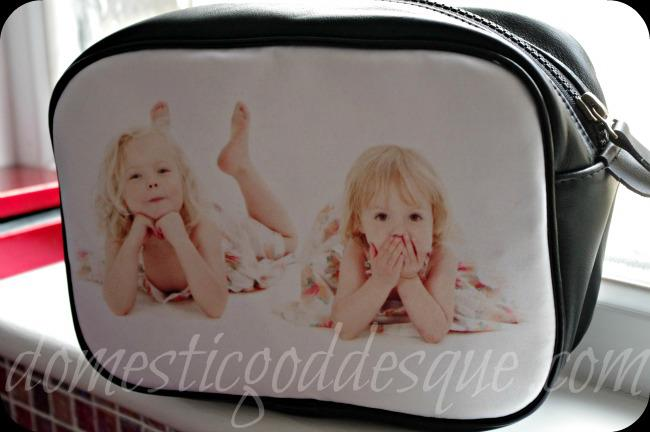 photo washbag from bags of love
