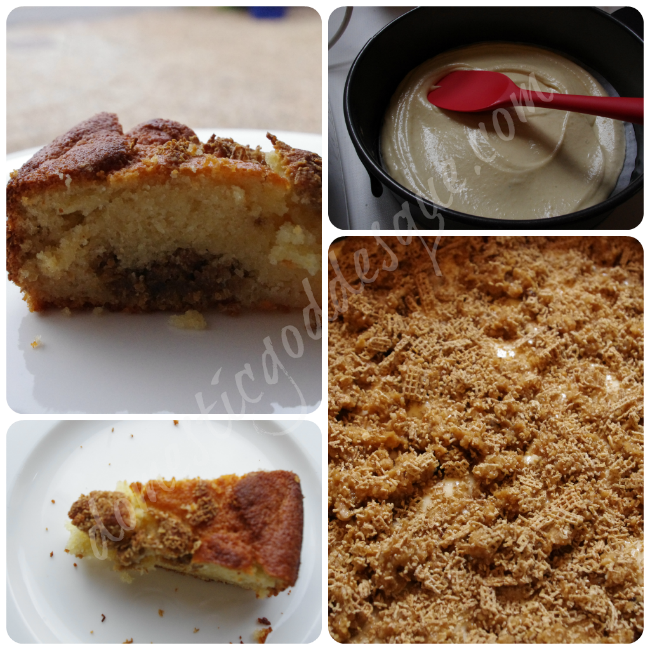 coffee almond streusel cake recipe