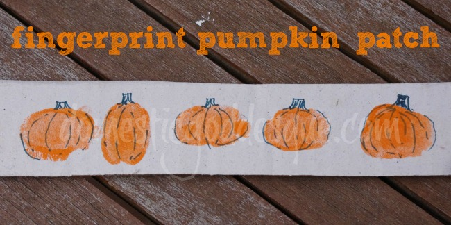 how to make fingerprint pumpkins