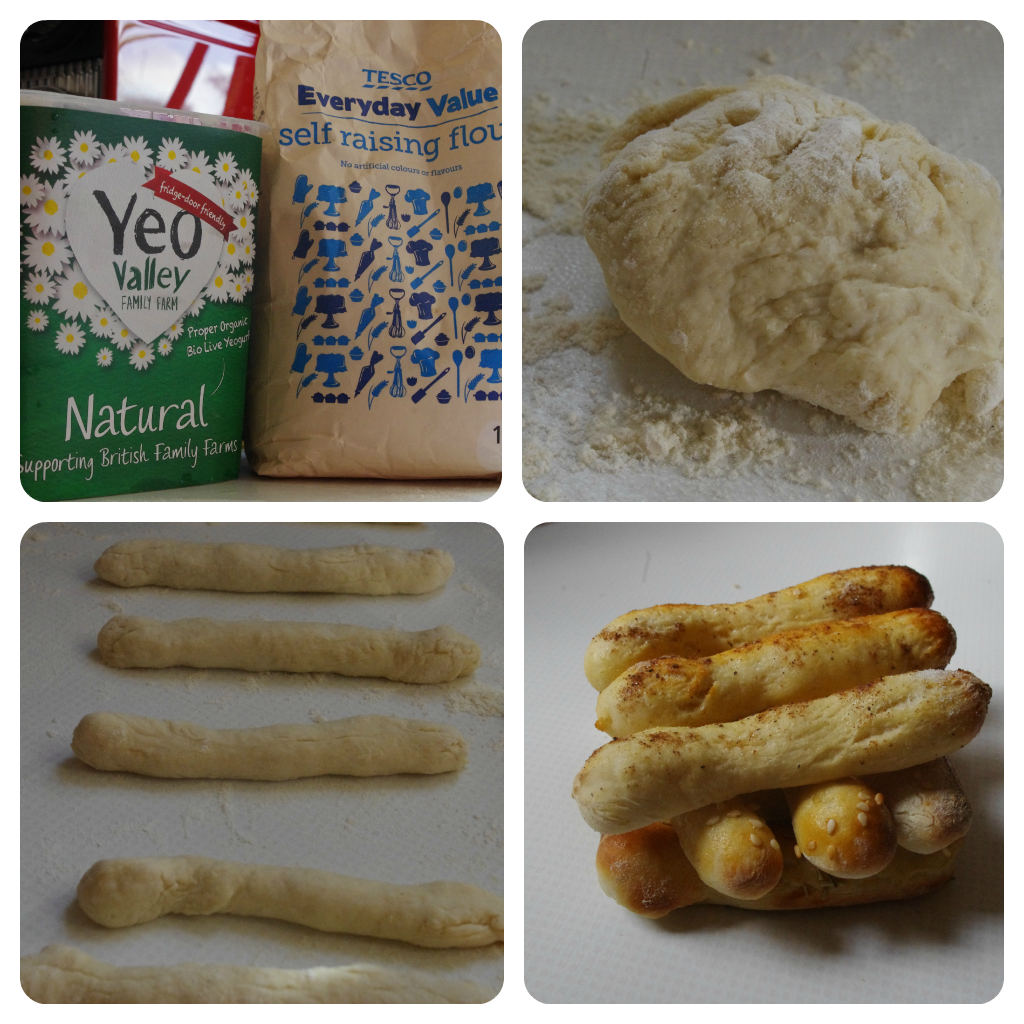 2 Ingredient Breadsticks