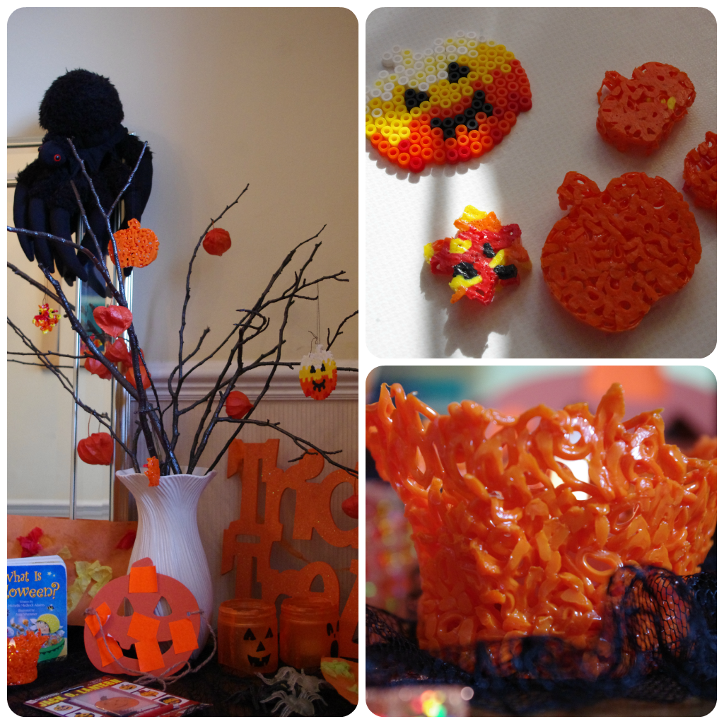 Pumpkin fusible Bead craft ideas
