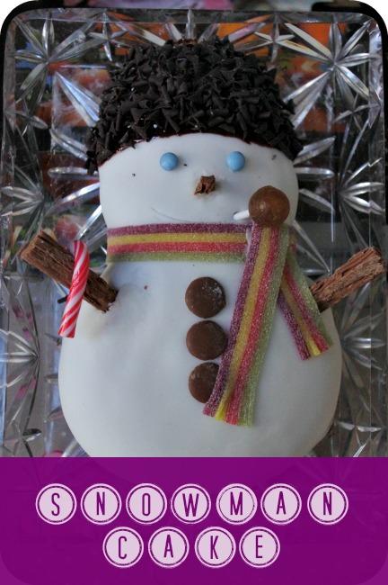 john lewis snowman cake
