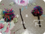 how to make a pompom flower