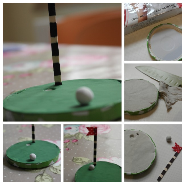 Father's Day Desk Golf Craft