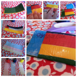 Father's Day duct tape Oyster card holder
