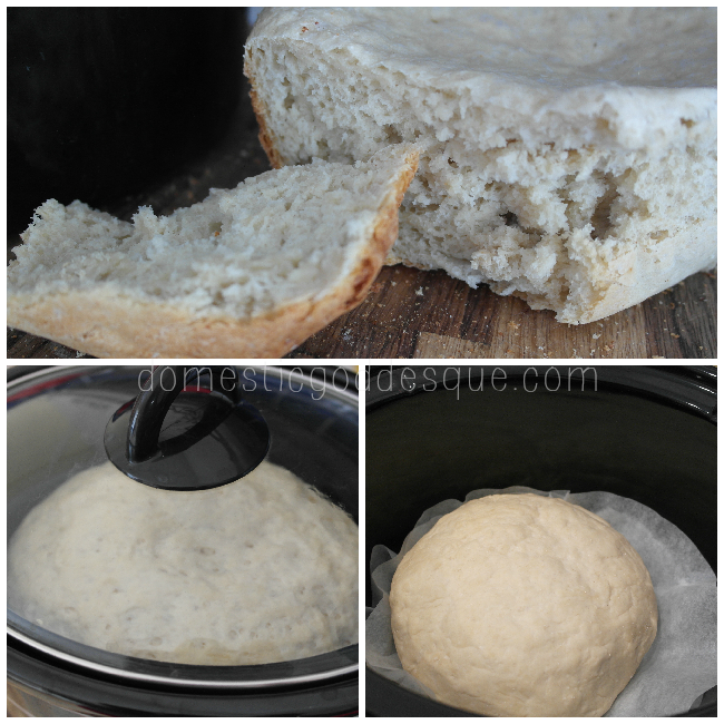 baking bread in a slow cooker