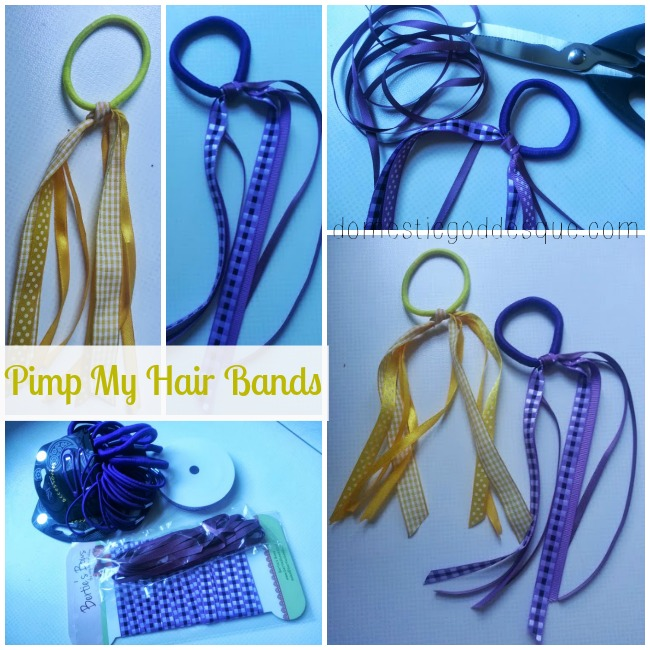 {Back to School} Pimp my hair bands