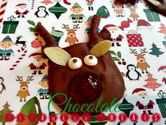 Chocolate Reindeer Treats
