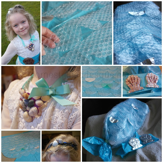 mermaid tail costume and accessories