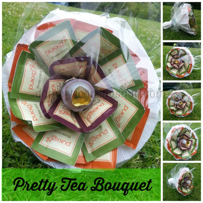 gift for teacher Pretty Tea Bouquet