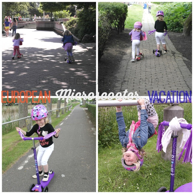 European Microscooter Vacation