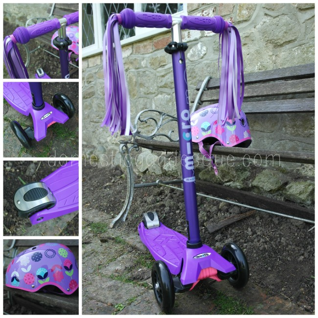 Purple Limited Edition Maxi Micro Scooter