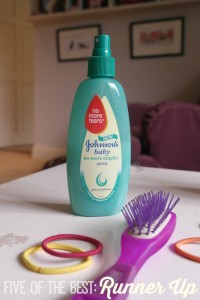 johnsons detangler runner up