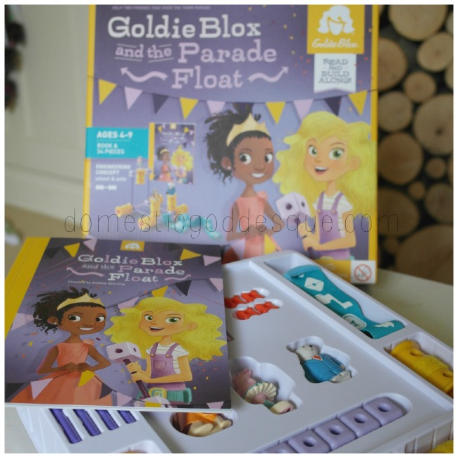 GoldieBlox engineering toy for girls review