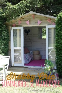 Shabby Chic Girls Clubhouse Makeover