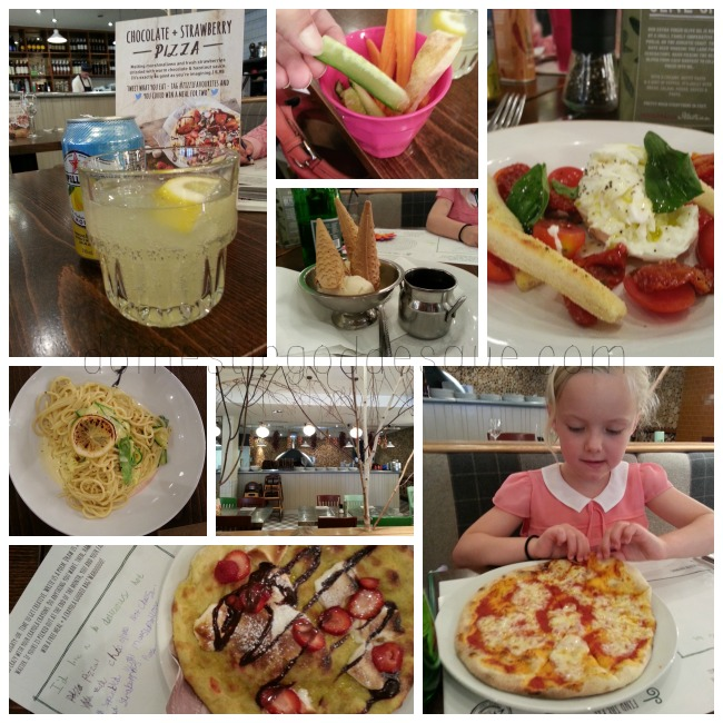 Zizzi Sweet Pizza launched in store
