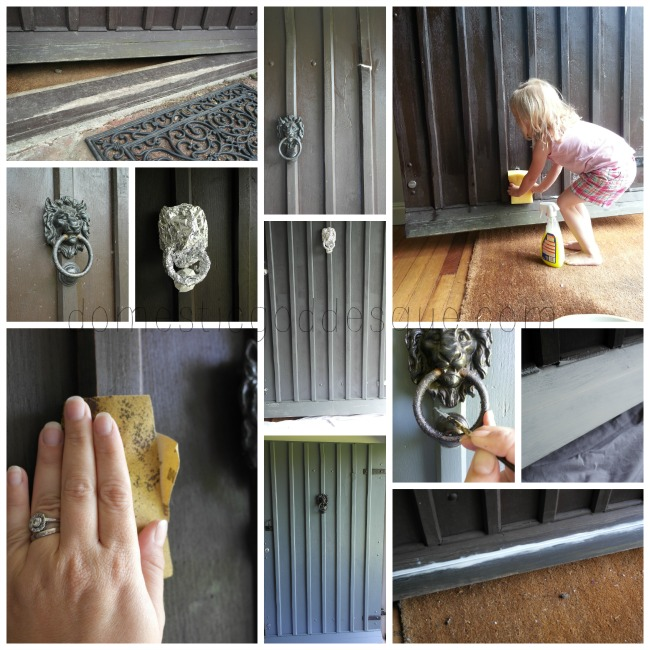tips for painting the front door