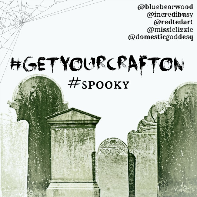 Spooky #GetYourCraftOn Challenge- October 2014