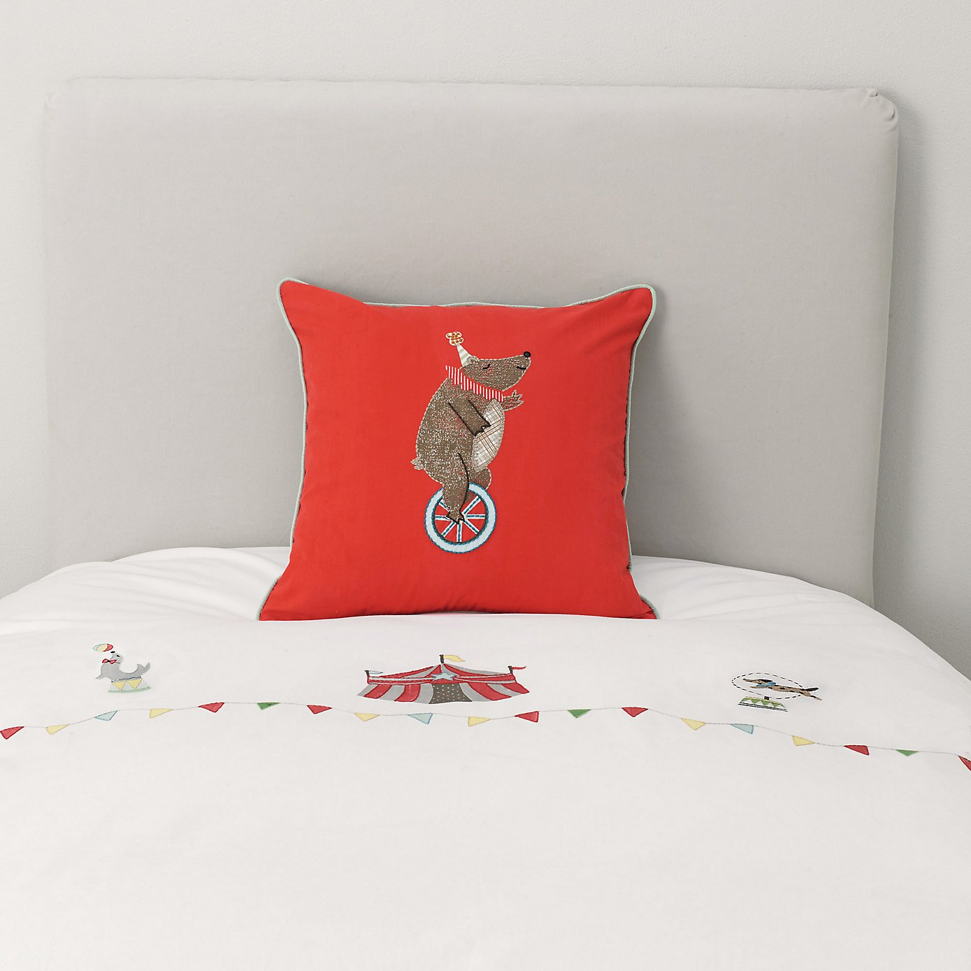Circus Pillow from The Little White Company #Giveaway  CLOSED