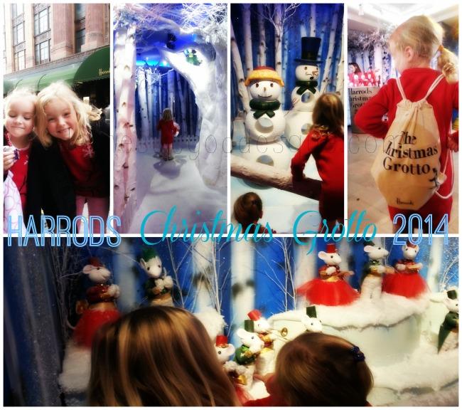 Harrods Christmas Grotto Santa 2014