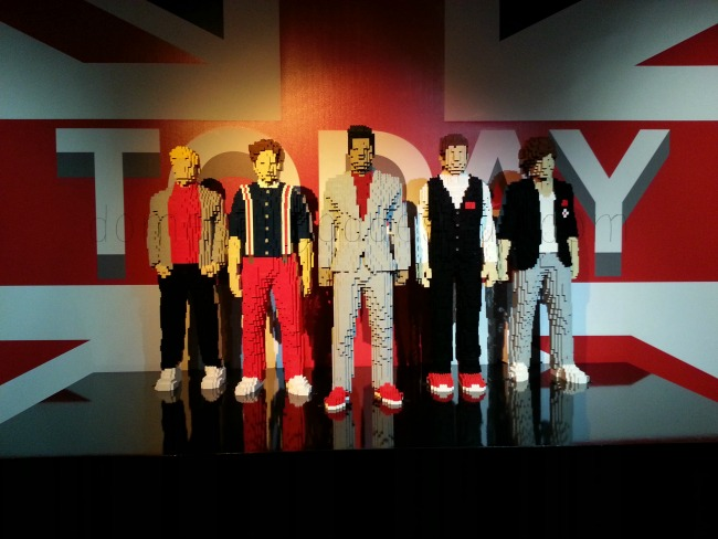 Art of the Brick One Direction Lego