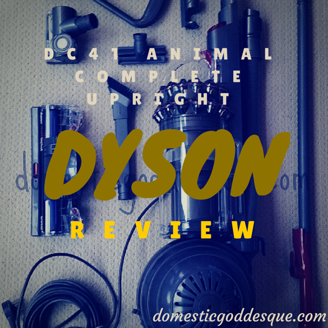 Dyson DC41 Animal Complete Upright Vacuum Cleaner Review