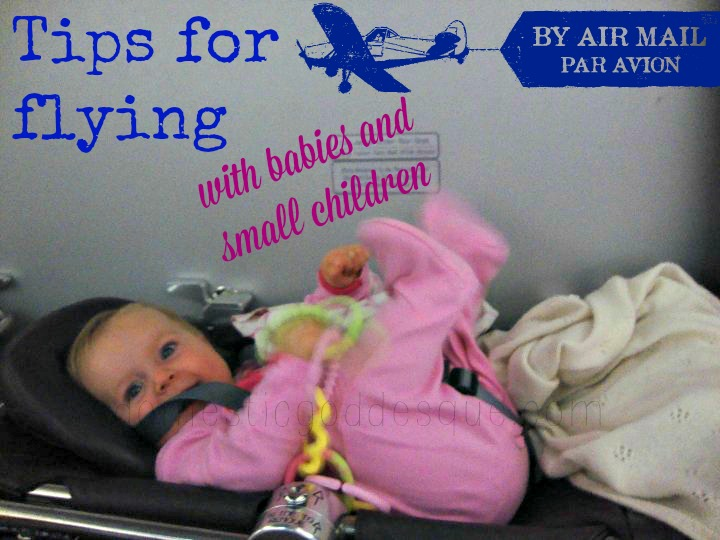 Tips for flying with infants and babies