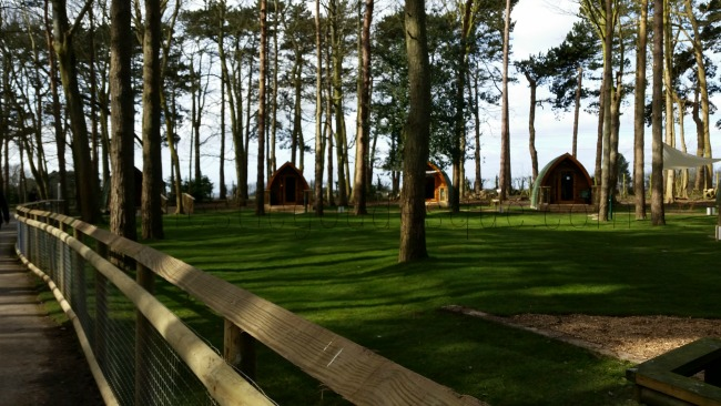 Family Travel: Camping Pods at Port Lympne