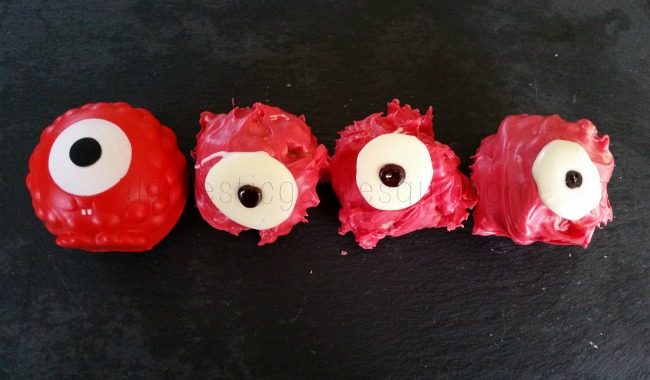 Red Nose Day Rice Krispie Cakes