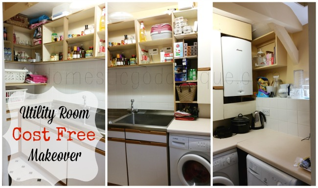 Cost free Utility Room Makeover