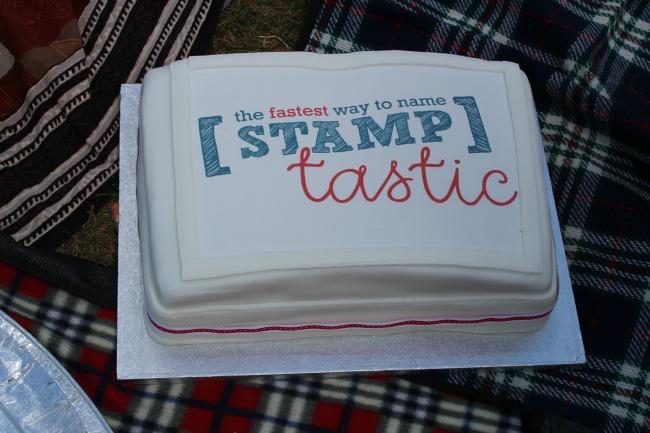 Stamptastic Cake Kew Gardens picnic